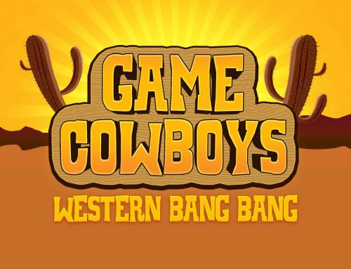 Free Western Game Logo Text Effect (PSD)